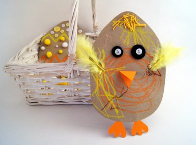 Osterkarten #DIY - kreative #Geschenke mit Kindern #basteln - mit Bastelvorlagen | von Fantasiewerk